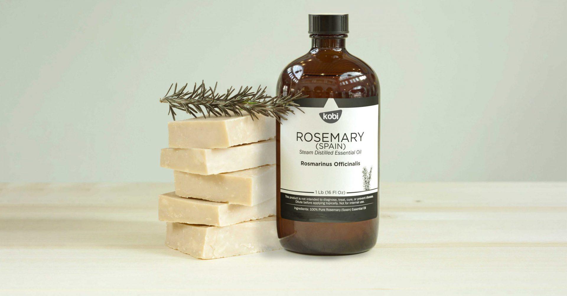 Dùng tinh dầu hương thảo làm xà phòng tự nhiên