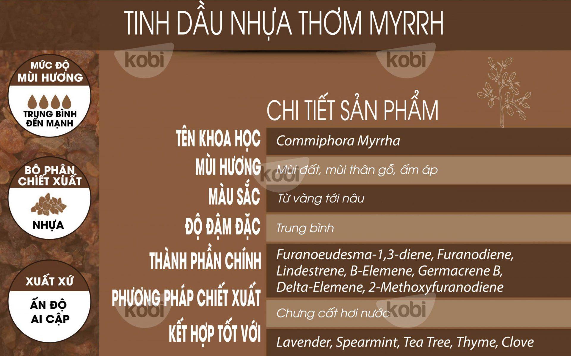 Tinh dầu myrrh kobi (myrrh essential oil)